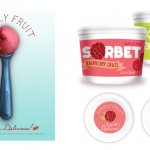 Sorbet Packaging and Print Ad