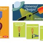 Branding for OXO brand kitchen tools.